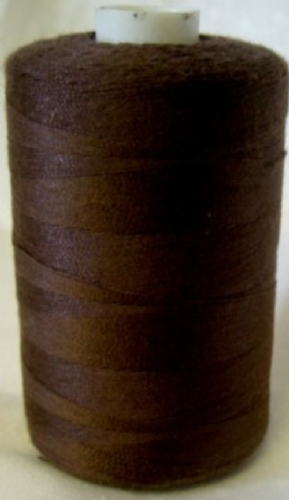 Polyester Sewing Machine Thread 1000 Metres Spools Peat Brown 1192